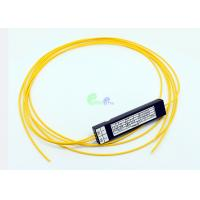 Buy cheap Corning Singlemode 1x2 Fiber Optic Cable Coupler Low Polarization Dependent Loss from wholesalers