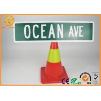 Buy cheap 6x24 Novelty Ocean Avenue Street Sign Home Decor Humor Motivation Funny Sign from wholesalers