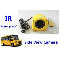 Buy cheap IR Waterproof camera vehicle mount 150 Degree 12V DC Side View For Bus from wholesalers