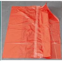 Buy cheap Red Color Water Soluble Laundry Sacks Cold Water Soluble Bags With Strip CE ISO from wholesalers