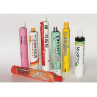 Buy cheap Soft Empty Toothpaste Tubes , Colorful  Hand Cream Empty Aluminum Tubes from wholesalers