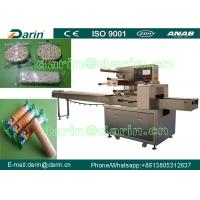 Buy cheap Flow Pillow Biscuit Cookie Candy Packing Machine / cake packing machine from wholesalers