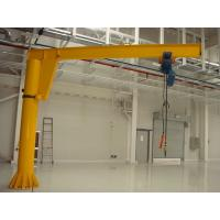 Buy cheap 1 ton, 2 ton Freestanding Electric Jib Crane With Wire Rope Hoist For Workshops / Warehouses from wholesalers