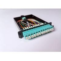 Buy cheap OM3 MPO LC Data Center Enclosures For Passive Optical Network Standard LCD Adapter from wholesalers