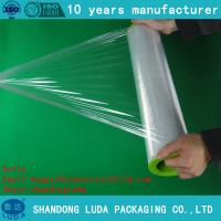 Buy cheap pe stretch film Pallet Shrink Wrap Polyethylene Transparent pallet wrap film from wholesalers