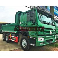 Buy cheap U Shape 12 - 20 Cubic Tipper Truck , 3 Axle 20 - 30 Ton Dump Truck LHD Steering from wholesalers
