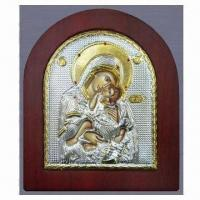 Buy cheap Metal/Orthodox Icon with Aluminum Base Sheet and Silver Plating Surface Finish from wholesalers