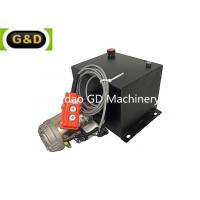 Buy cheap Single Acting Trailer Hydraulic Power Unit Used to Activate Trailer Tipping Rams of Multi Stage product