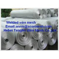 Buy cheap Hot dipped zinc coated Welded wire mesh  from wholesalers