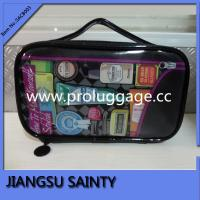 Buy cheap Glassy leather beautiful makeup bag for your cosmetics from wholesalers