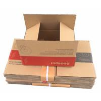 Buy cheap C Flute Corrugated Carton Box , Corrugated Gift Boxes Flexo Printing from wholesalers