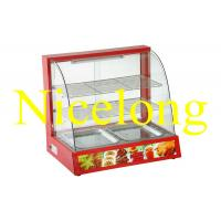 Buy cheap ELW-990R electronic curved glass food warmer for catering from wholesalers