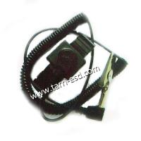 Buy cheap L plug ESD metal wrist strap from wholesalers