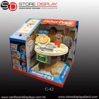 Buy cheap customized PDQ toys tabletop display box from wholesalers