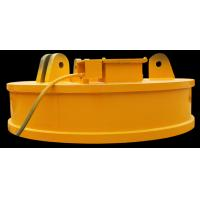 China DC 24V Excavator Lifting Electromagnet , Scrap Handling Magnets Light Self Weight on sale