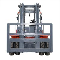 Buy cheap 1220 Fork Length 5 Ton Diesel Operated Forklift Automatic / Manual Transmission from wholesalers