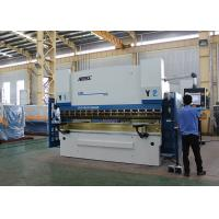 Buy cheap Graphic Color CNC Press Brake Machine 300 Ton With Adjustable Clampings from wholesalers