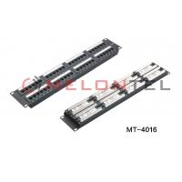 Buy cheap 48 Port Cat6 RJ45 Network Patch Panel Wall Mount For 3M Keystone Modular from wholesalers