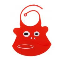 Buy cheap 31.5cm X 21.5cm 100 % Silicone Baby Bibs BPA Free FDA / SGS Certificated from wholesalers