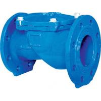 Buy cheap 1.5 Inch Rubber Disc Water Supply Ductile IronCheck Valve Swing BS EN12334 PN10 from wholesalers