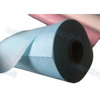 Buy cheap Perforated Hospital Bed Sheets Disposable Examination Table Cover Roll PE Coated from wholesalers