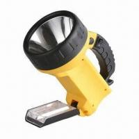 Buy cheap Portable LED Handheld Spotlight with 12 Pieces LED Underside, Available in Various Colors from wholesalers