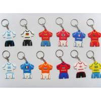 Buy cheap Custom Rubber Jersey Key Chain Football National Team Key Chain (QYYSK) from wholesalers