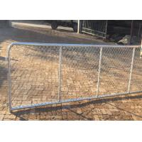 Buy cheap 10 FT Length Commercial Chain Link Fence / Heavy Duty Chain Link Fencing from wholesalers