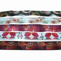 Buy cheap Nylon invisible zipper with printing from wholesalers