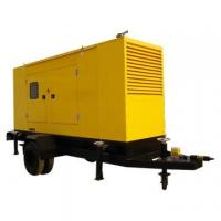 Buy cheap CUMMINS Trailer Mounted Diesel Generator 80KW / 100KVA Low Fuel Consumption from wholesalers