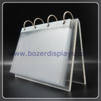 Buy cheap Holder-Office Acrylic Calendar Holder for Display from wholesalers