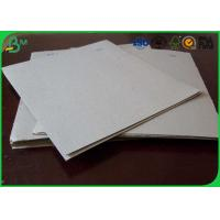 Buy cheap Uncoated Grey Board Paper Custom Size 300gsm - 3150gsm For Shoes Box product