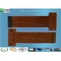Buy cheap Sink Gold 2mm Pitch FPC Flexible Printed Circuit , Silkscreen Flex Circuit Board Connectors from wholesalers
