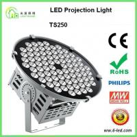 Buy cheap 250w Flood Outdoor Projection Lights For Stadium Wharf With Cree Chip And Meanwell Dirver product
