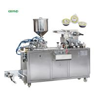 Buy cheap Automatic Honey Liquid Blister Packing Machine With 2 Nozzles Filling Heads DPP 80 product