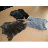 Buy cheap genuine rabbit fur plates from wholesalers
