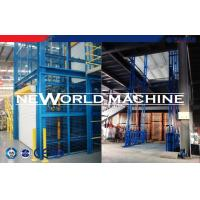Buy cheap 20T 17M Hydraulic Lift Platform / Fixed Guide Rail Type Elevator from wholesalers