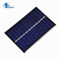 Buy cheap 0.65W 6V cheapest solar panel photovoltaic ZW-9060 Poly Silicon solar cell phone charger product