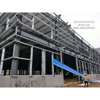Buy cheap Frame Welded Steel Structure Workshop Hot Dip Galvanized Painted Surface from wholesalers