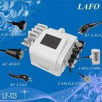 Buy cheap 5 in 1 portable cavitation rf lipo laser reduce fat from wholesalers