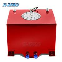 Buy cheap Red 5 Gallon Aluminum Fuel Cell Tank Polished Surface With Street Race Drift Type from wholesalers