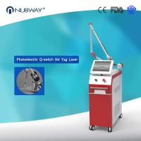Buy cheap Double lamp & double crystal laser generator Q Switch Nd Yag Laser 1064nm 532nm Tattoo Removal Machine from wholesalers