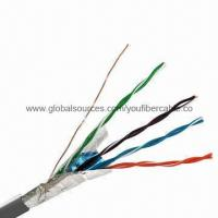 FTP CAT 5e Network Cable/Cable CCA FTP 5e/LAN Cable FTP CAT 5e/FTP 5e Cable with Messenger