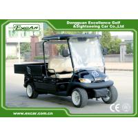 Buy cheap Black Color Lifted Beverage Food Golf Cart 48V 2 Passenger Hotel Buggy Car from wholesalers