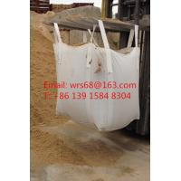 China 1 Ton Bulk bags super sack bags PP woven bulk bags for Building / Construcation on sale