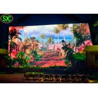 Buy cheap Big P6 Indoor Full Color Led Display Screen / Led Tv Video Wall Panel Rental from wholesalers