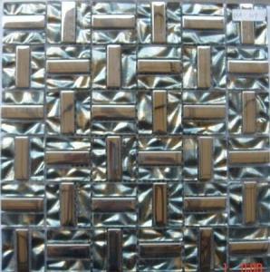 Electroplate Glass Mosaic