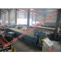 Buy cheap Color Prepainted or Galvanised Steel Glazed Roofing Tiles Sheet Cold Roll Forming Machine with Automatic Cr12 Cutter from wholesalers