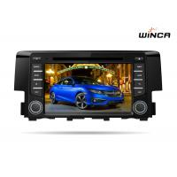 Buy cheap Bluetooth Honda Dvd Player , 7 Inch Multitouch Screen Honda Head Unit 1 GB Ram from wholesalers