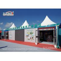 China 3-10M Size Modular Aluminum And PVC Pagoda Party Tent For Corporate Events on sale